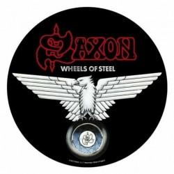 Nášivka Saxon - Wheels Of Steel