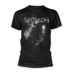 Pánské tričko Satyricon - Black Crow And A Tombstone