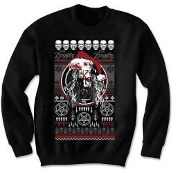 Pánská mikina Rob Zombie - Bloody Santa