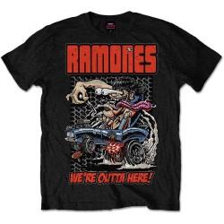 Pánské tričko Ramones - Outta Here