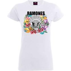 Dámské tričko Ramones - Flowers