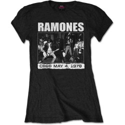Dámské tričko Ramones - CBGB 1978