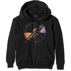 Pánská mikina Pink Floyd - Machine Greeting Orange