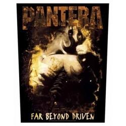 Nášivka Pantera - Far Beyond Driven