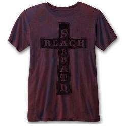 Tričko Black Sabbath - Vintage Cross