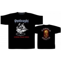 Pánské tričko Onslaught - Power From Hell