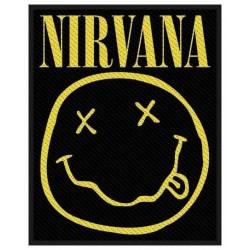 Nášivka Nirvana - Smiley