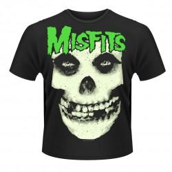 Pánské tričko Misfits - Glow Jurek Skull