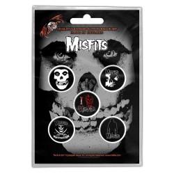 Set Placek Misfits - Skull