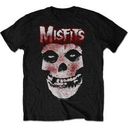 Pánské tričko Misfits - Blood Drip Skull