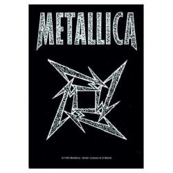 Vlajka Metallica - Ninja Star