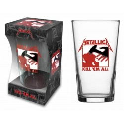 Sklenička Metallica - Kill 'Em All