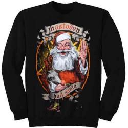 Pánská mikina Mastodon - Hail Santa Holiday