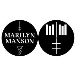 Slipmat na gramofon - Marilyn Manson