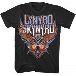 Pánské tričko Lynyrd Skynyrd - Crossed Guitars