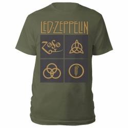 Pánské tričko Led Zeppelin - Symbols