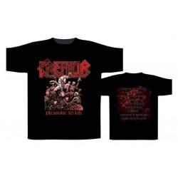 Pánské tričko Kreator - Pleasure To Kill