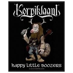 Nášivka Korpiklaani - Happy Little Boozer's