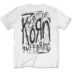 Pánské tričko Korn - Scratched