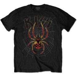 Pánské tričko Kiss - Spider