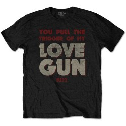 Pánské tričko Kiss - Pull The Trigger