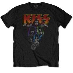 Pánské tričko Kiss - Neon Band