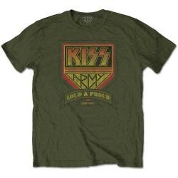 Pánské tričko Kiss - Loud & Proud