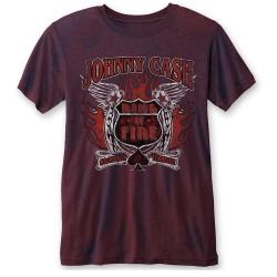 Pánské tričko Johnny Cash - Ring Of Fire