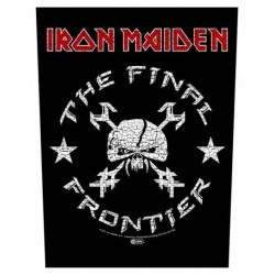 Nášivka Iron Maiden - The Final Frontier Vintage Skull