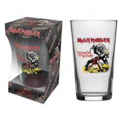 Sklenička Iron Maiden - The Number Of The Beast