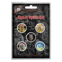 Set Placek Iron Maiden - The Faces Of Eddie
