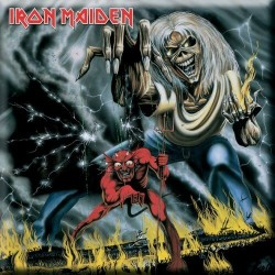 Magnet na lednici Iron Maiden - Numbers Of The Beast
