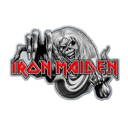 Přípínáček Iron Maiden - Number Of The Beast