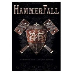 Vlajka Hammerfall - Steel Meets Steel