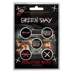 Set Placek Green Day - Revolution Radio
