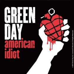 Podtácek Green Day - American Idiot