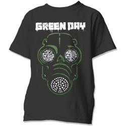 Tričko Green Day - Green Mask