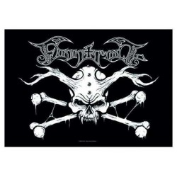 Vlajka Finntroll - Skull