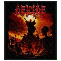 Nášivka Deicide - To Hell With God