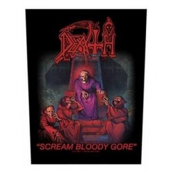 Nášivka Death - Scream Bloody Gore