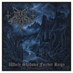 Nášivka Dark Funeral - Where Shadows Forever Reign