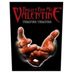 Nášivka Bullet For My Valentine - Temper Temper