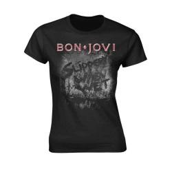 Dámské tričko Bon Jovi - Slippery When Wet