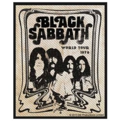 Nášivka Black Sabbath - Band