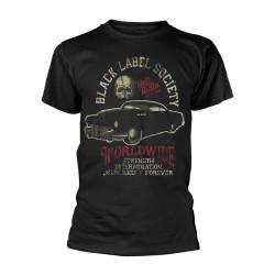 Pánské tričko Black Label Society - Hell Riding Hot Rod