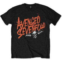 Tričko Avenged Sevenfold - Orange Splatter