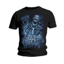 Tričko Avenged Sevenfold - Chained Skeleton