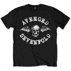 Tričko Avenged Sevenfold - Classic Death Bat