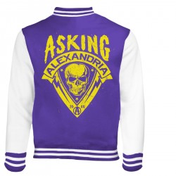 Pánská mikina Asking Alexandria - Skull Shield