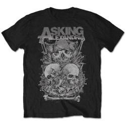 Tričko Asking Alexandria - Skull Stack